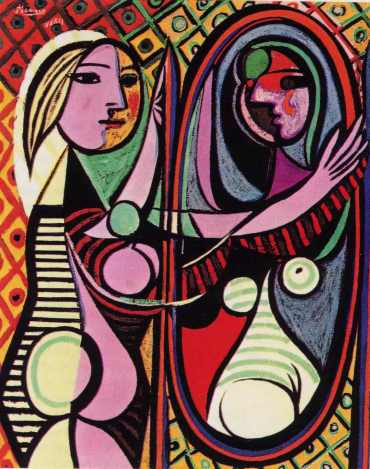 picasso_girl_mirror_postcard_1