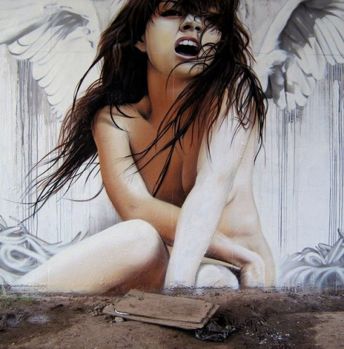 woman_realistic_graffiti_street_art_erotic